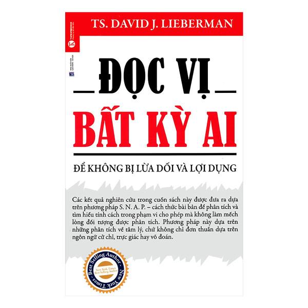 Sách - Đọc Vị Bất Kỳ Ai (Tái Bản) Tặng kèm bookmark