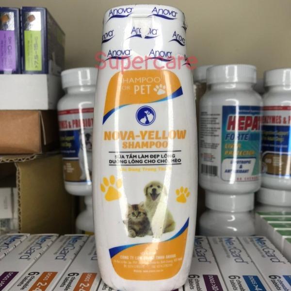 Sữa Tắm Nova Yellow 150ml Dưỡng Da Làm Đẹp Lông