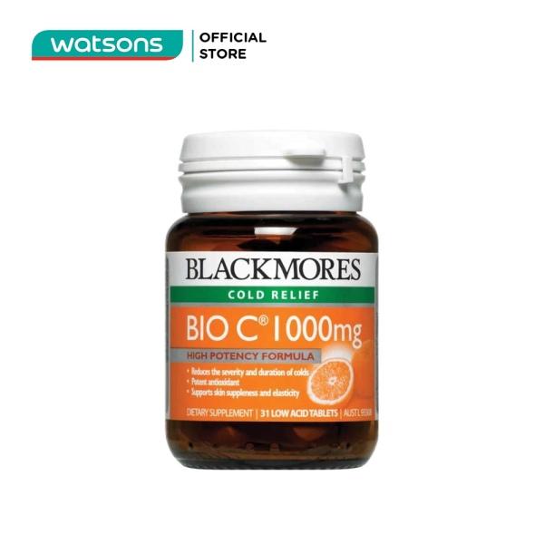 Thực Phẩm Bảo Vệ Sức Khỏe Blackmores Bio C 1000mg 31 Viên