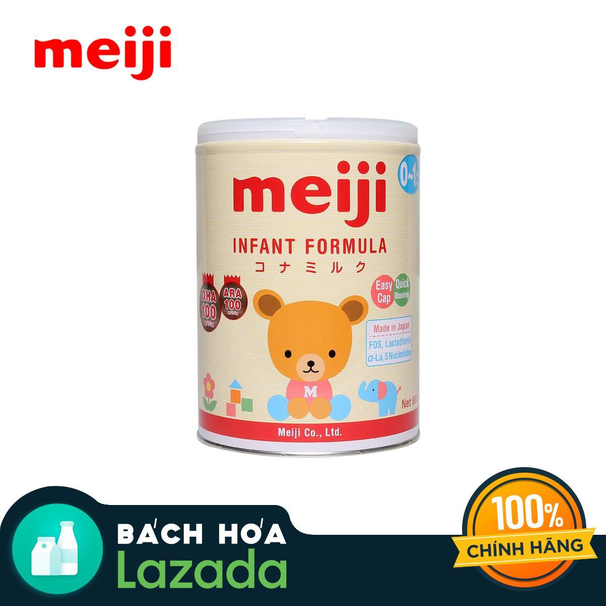 Sữa bột Meiji Infant Formula dành cho trẻ từ 0...