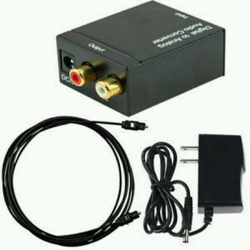 Bộ chuyển đổi âm thanh tivi 4k Optical sang Av R/L loa , amply ( Hàng Hộp ) ,Bộ Chuyển Đổi Tín Hiệu Âm Thanh Tivi 4K Optical Sang Loa , Âmply Tặng Kèm Dây Quang Và Nguồn adpter gắn trực tiếp
