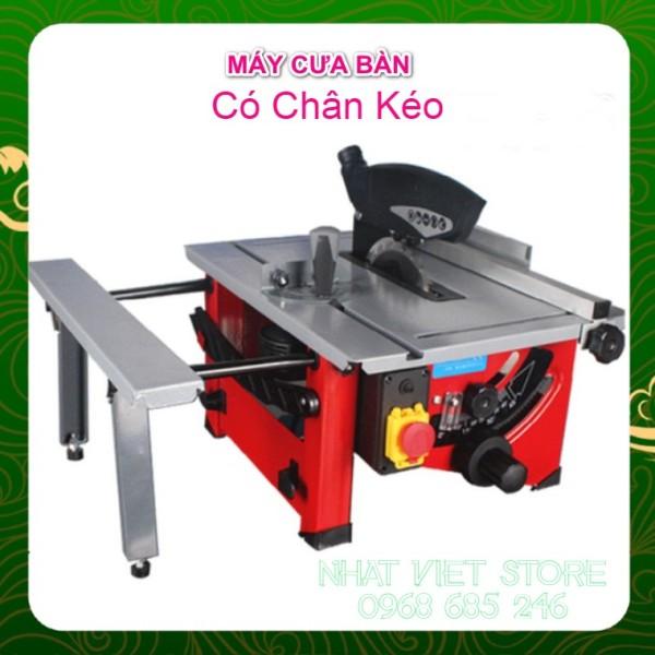 Máy cưa bàn mini trượt CÓ BÀN KÉO tiện lợi cho gia đình máy cắt gỗ đa năng