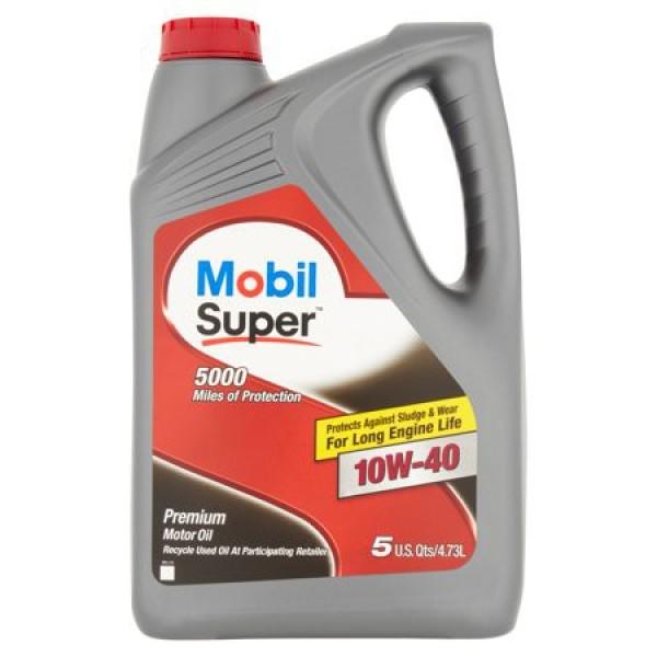 Dầu nhớt Mobil Super 10W40 4730ml - Dầu nhớt Mobil nhập khẩu Mỹ