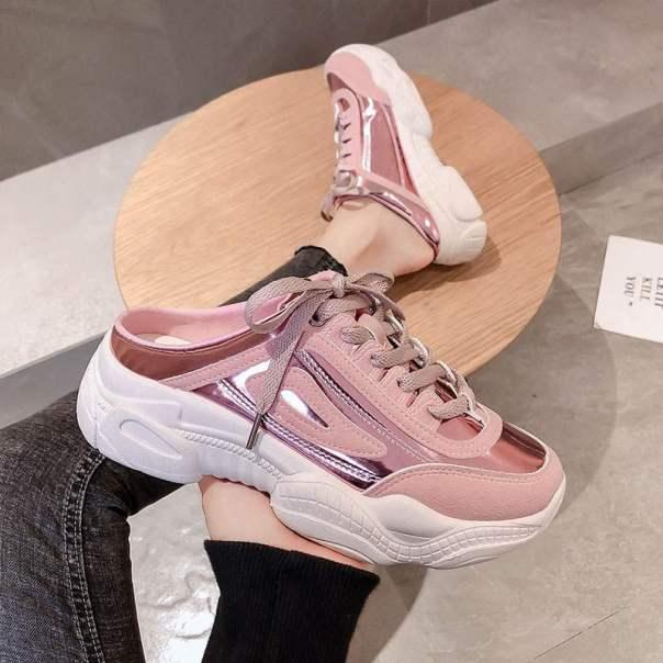 Giày sục  HOT TREND 2020 mùa hè đế độn 3cm đi êm chân, thoáng chân. giá rẻ