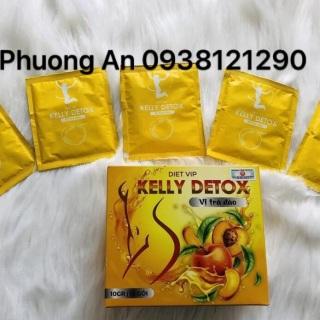 TRÀ ĐÀO KELLY DETOX GIẢM CÂN CHÍNH HÃNG CTY 100% DATE MỚI thumbnail