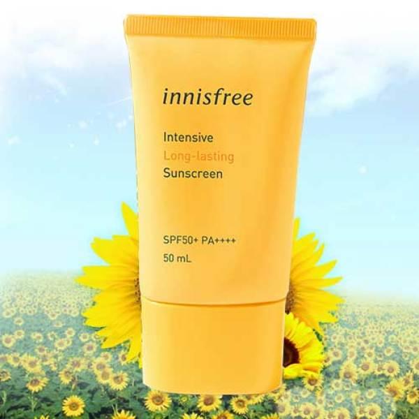 Kem Chống Nắng Chống Trôi Innisfree Intensive Long-Lasting Sunscreen SPF50+/PA++++ 50ml