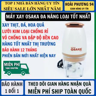 Máy Xay Sinh Tố Mini Osaka Máy Xay Đa Năng Loại Mới Lưỡi Xay Thép Chống Rỉ Vỏ Nhựa Chống Va Đập Bền Bỉ, Máy Xay Đa Năng Xay Thực Phẩm thumbnail