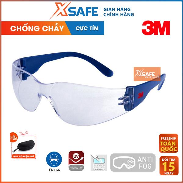 Giá bán Kính bảo hộ 3M 2720 kính chống tia UV, va đập, bẩn, chống bụi, chắn gió, chống xước, đọng sương. Mắt kính trong suốt, bảo vệ mắt trong y tế, lao động, đi xe máy (màu trắng) - Sản phẩm chính hãng XSAFE