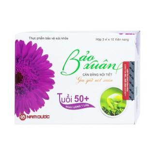 Cân bằng nội tiết tố, giúp hạn chế lão hoá, giảm nếp nhăn cho phụ nữ trên 50 tuổi BẢO XUÂN 30 viên thumbnail