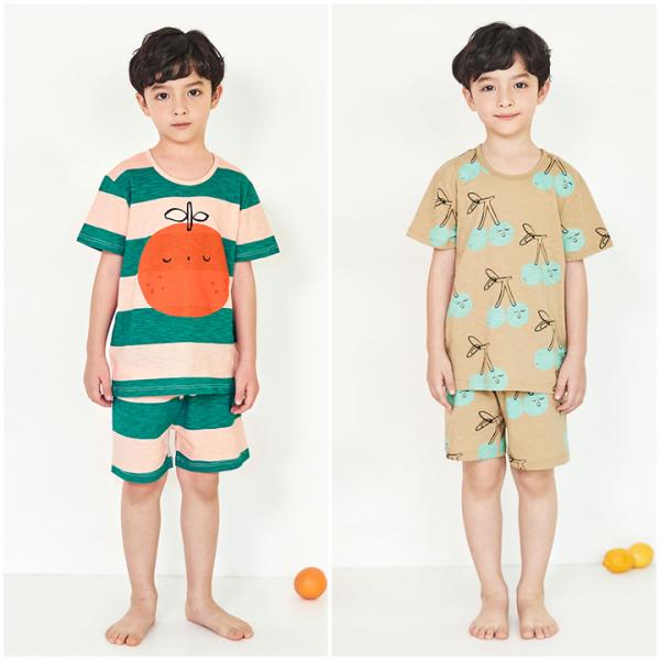 Nơi bán Bộ đồ mặc nhà bé trai Unifriend Hàn Quốc Uni006 cho bé 1-10 tuổi, vải cotton organic Korea. Đồ ngủ cao cấp, chính hãng cho bé.