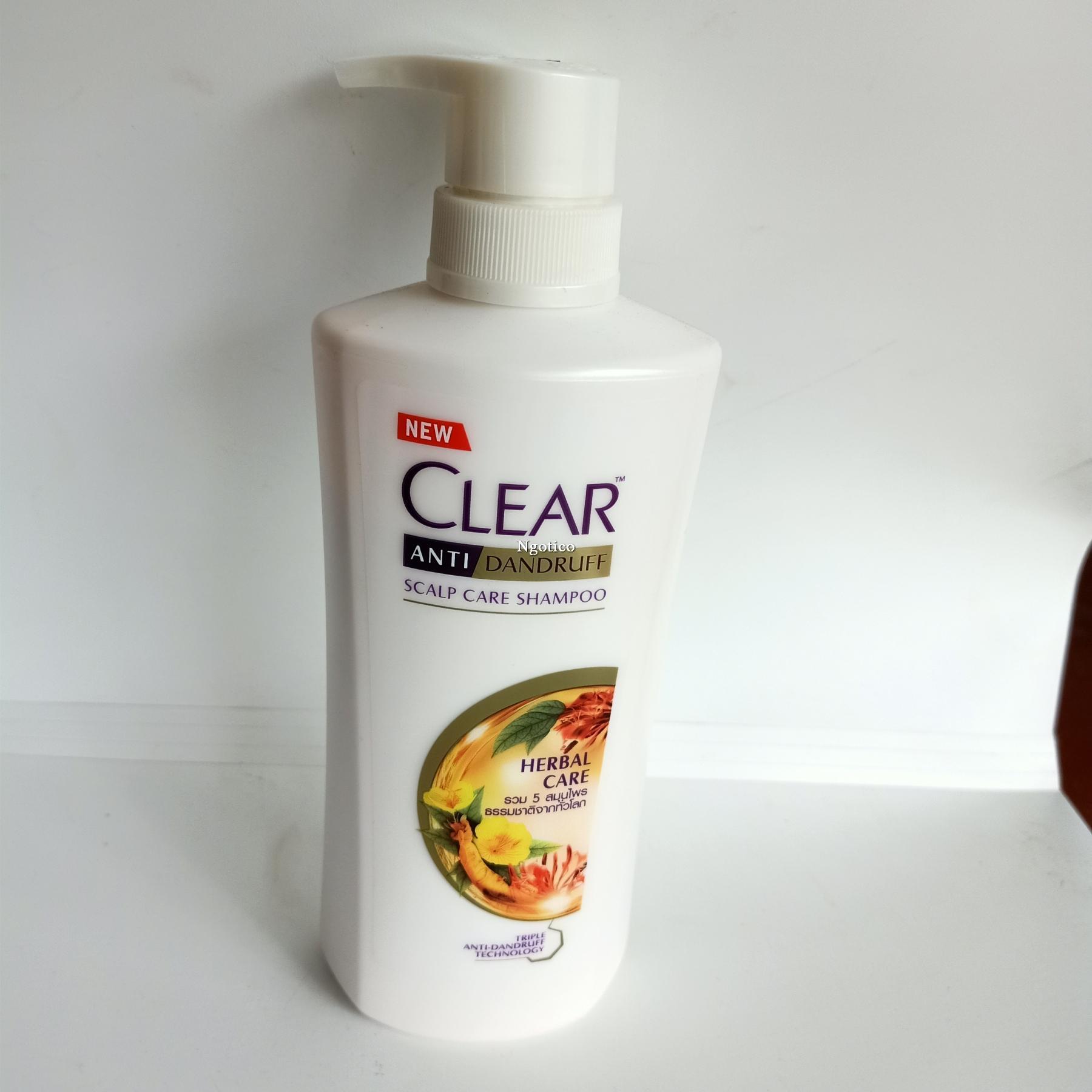 Dầu gội Clear thảo dược Thái Lan giá rẻ