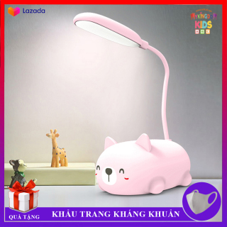 Đèn Để Bàn Mèo Con Cute - Đèn Học, Đèn Ngủ, Đèn Led Độc Lạ Mini - Gập Xoay 360 Độ Tiện Dụng, Nhỏ Gọn, Di Chuyển Dễ Dàng thumbnail