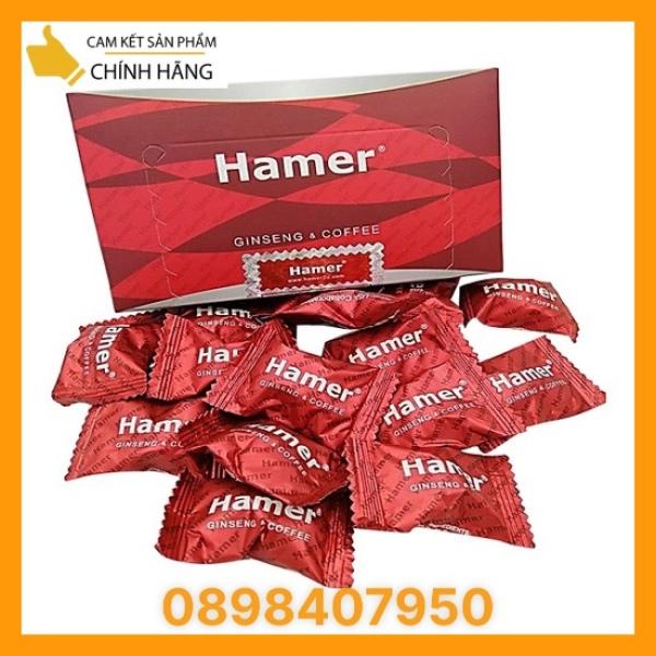 36 viên [chuẩn auth date 2024 kẹo sâm Hamer Candy thế hệ mới Tăng Cường Sinh Lí Nam Giới -  Chính Hãng Từ Mỹ