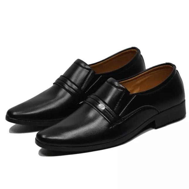 Giày Tây Nam Da Mềm Quai Ngang Lịch Lãm giá rẻ