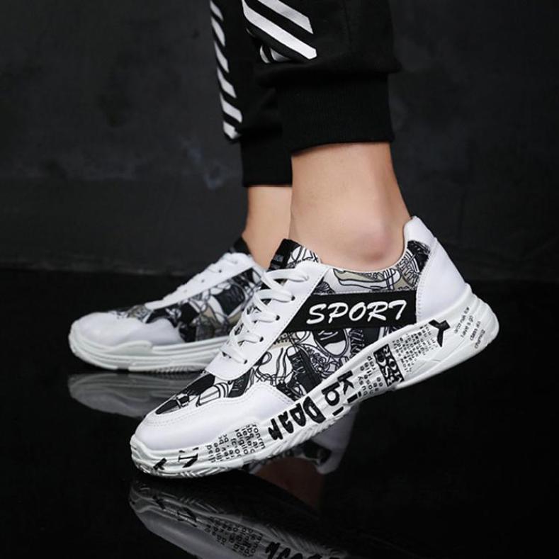 Giày sneaker nam Hàn Quốc Hot trend - TỔNG KHO(PL36) - GIÁ HỦY DIỆT giá rẻ