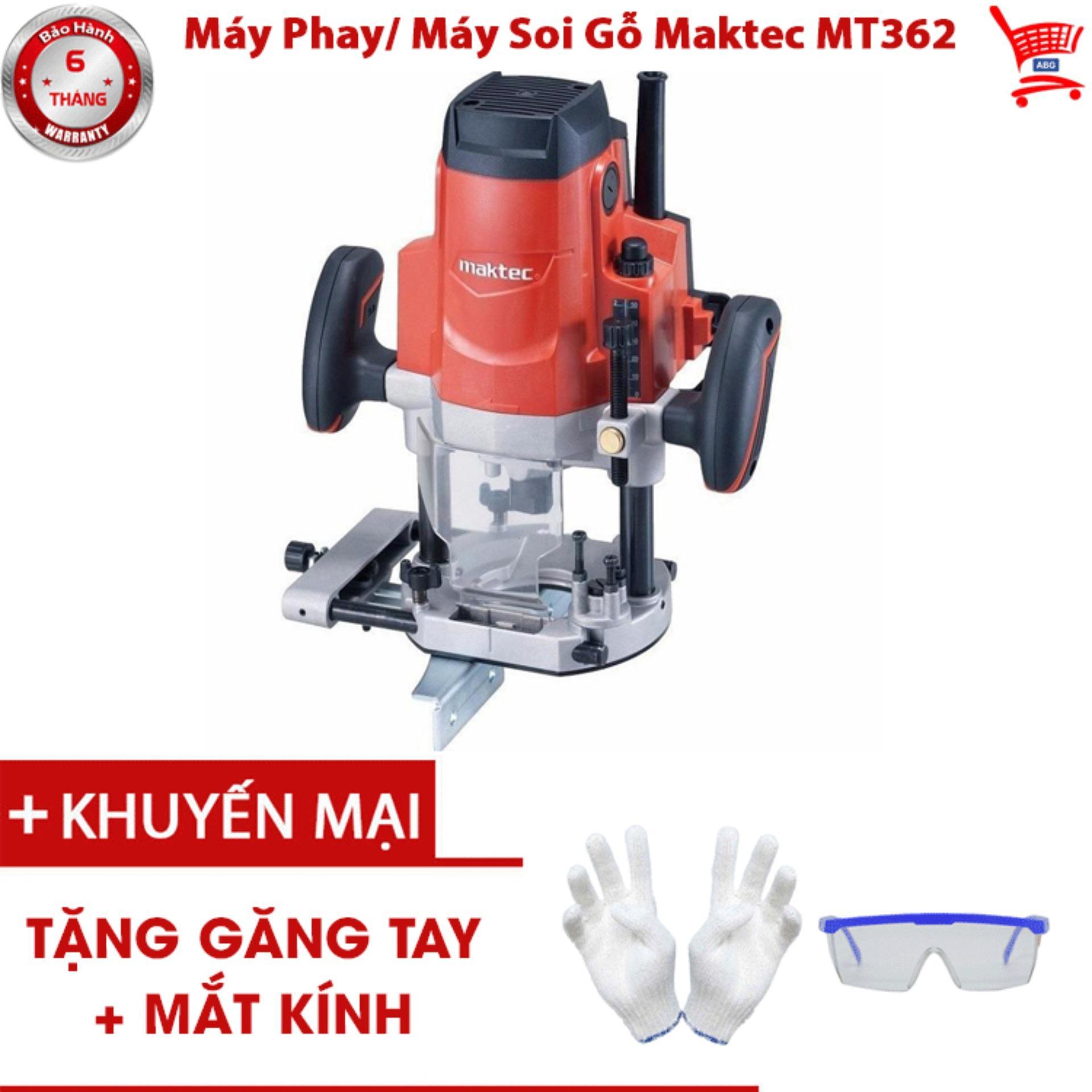 Máy Phay/ Máy Soi Gỗ Maktec MT362 - ABG shop