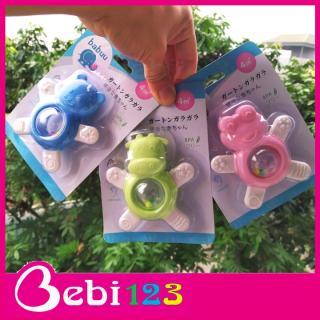Gặm nướu lục lạc cho bé Babuu Nhật Bản hình ếch xinh xắn thumbnail