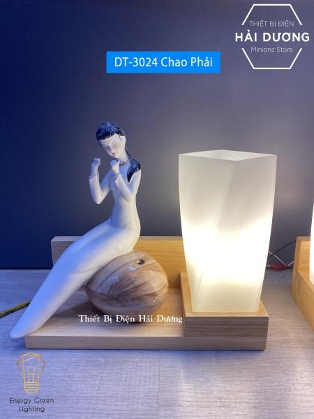 Bảng giá Đèn Tường Kệ Gỗ Chao Thủy Tinh Hiện Đại DT-3024 - Trang Trí Căn Phòng - Energy Green Lighting - Đã Bao Gồm Bóng LED 3W - Có Video thực tế