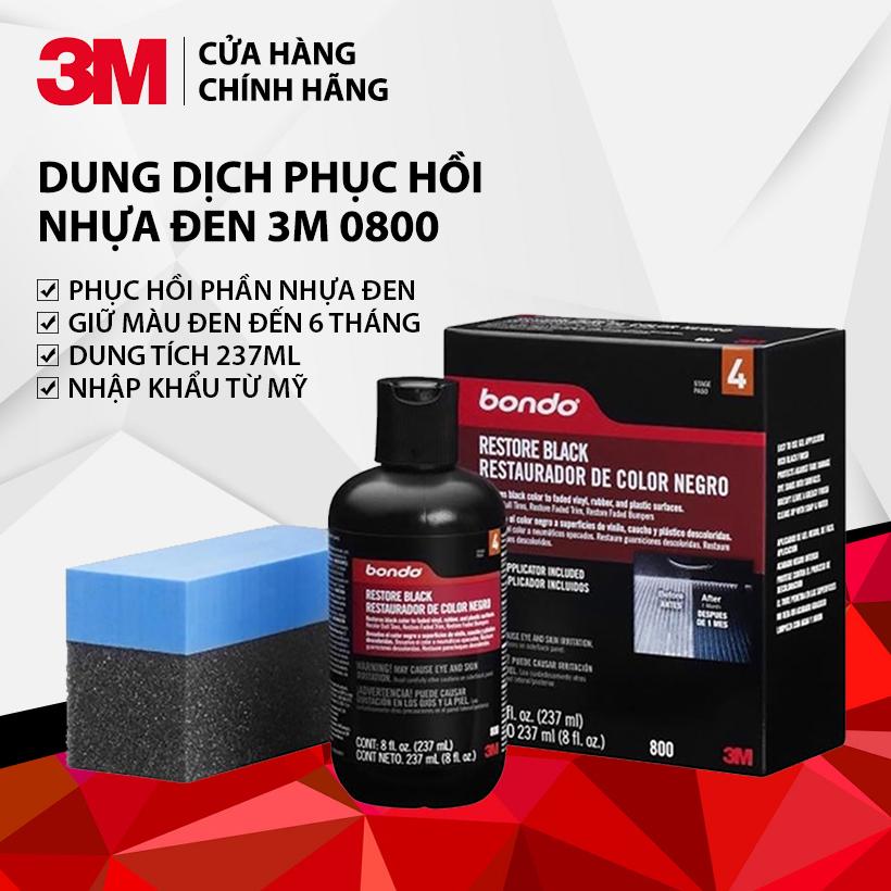Coupon Giảm Giá Dung Dịch Phục Hồi Nhựa đen Bondo 3M 0800