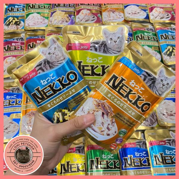 [Neko] Thức ăn pate nekko jelly cho mèo (chọn vị)