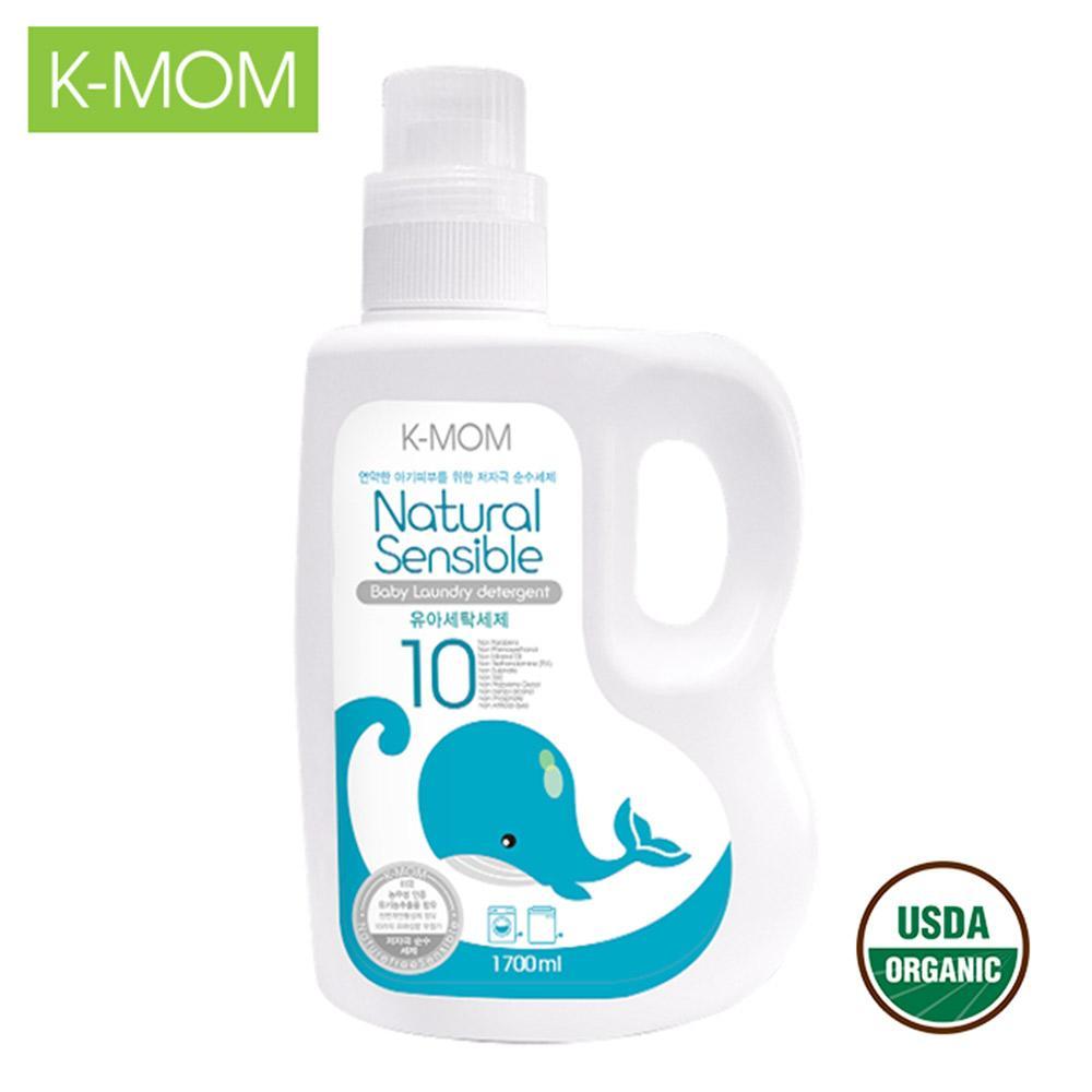 Nước giặt đồ sơ sinh hữu cơ 1700ml K-Mom KM13160