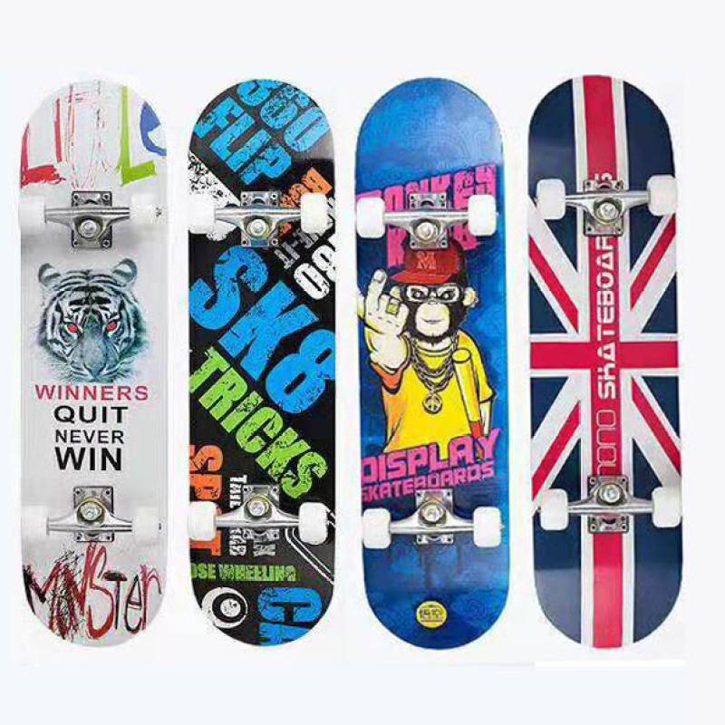 Giá bán Ván Trượt Skateboard, Ván Trượt, Ván Trượt, Ván Trượt Dài, Ván Trượt Thể Thao, Ván Trượt Cỡ Lớn Đạt Chuẩn Thi Đấu (Mặt Nhám + Bánh Cao Su)-Giao Màu Ngẫu Nhiên, Bảo Hành Uy Tín 1 Đổi 1 Trên Toàn Quốc.