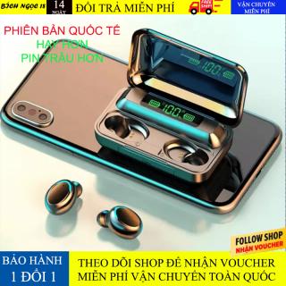 [Bảo Hành 1 ĐỔi 1] Tai Nghe Bluetooth Không Dây AMOI Plus F95 Pin Siêu Trâu Dock Sạc Dung Lượng Cao - Tai nghe bluetooth pin trâu - Tai nghe nhét tai không dây bluetooth, Tai nghe bluetooth mini - Tai nghe i7s, i9s, i11s, Amoi f9 thumbnail