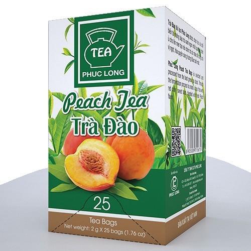Trà Đào Túi Lọc - Phúc Long Coffee & Tea Với Giá Sốc