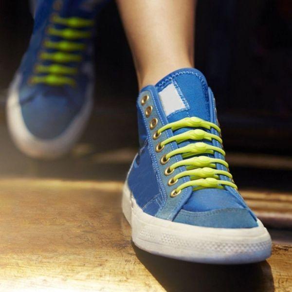 Giá bán PINYEKOO Thuận Tiện Hợp Thời Trang Giày Thể Thao Giày Thể Thao Không Ràng Buộc Màu Kẹo Phụ Kiện Giày Dây Giày Miễn Phí Silicone Khóa Dây Giày Nữ