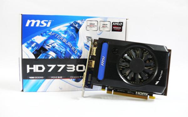 Bảng giá Card VGA MSI 7730 1GB DDR5 128BIT Radeon HD 7730 CHƠI LHMT MƯỢT Phong Vũ