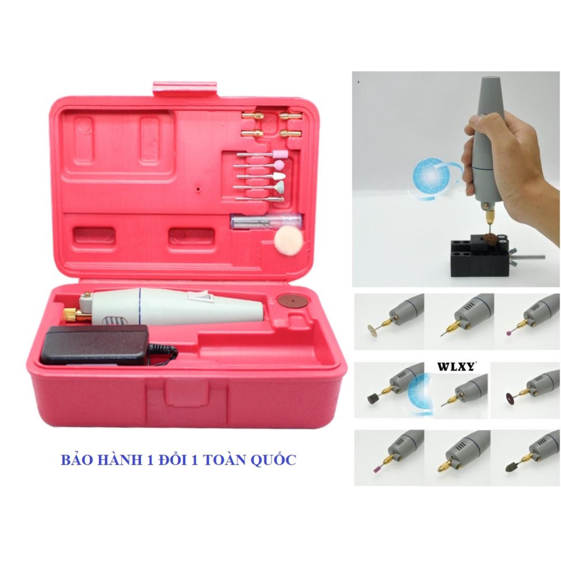 máy cưa gỗ đa năng mini, máy đa năng mini, Máy khoan mài cắt mini đa năng công suất lớn - khoan mạch điện tử - lồng chim và các chi tiết nhỏ tinh xảo. Bảo hành 1 đổi 1 toàn quốc