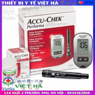 Máy đo đường huyết Accu-chek Perfoma tặng kèm 10 que thử thumbnail