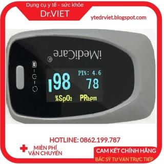 Máy đo nồng độ bão hòa Oxy trong máu (SPO2) và nhịp tim iMediCare iOM-A8- Chính hãng Singapore bảo hành 2 năm thumbnail