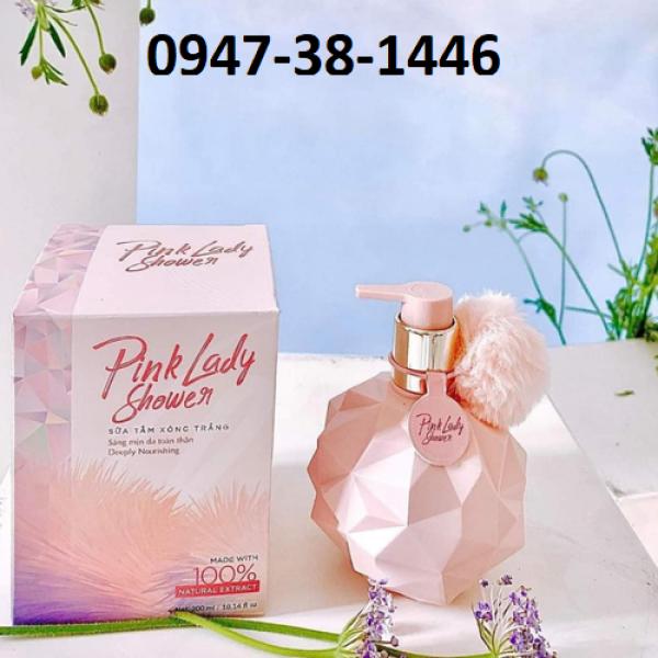 Sữa tắm xông trắng Pink Lady Qlady