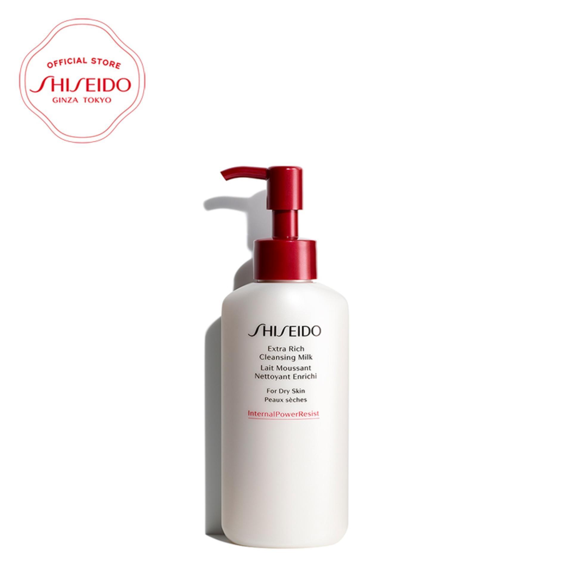 Mã Ưu Đãi Khi Mua Sữa Rửa Mặt Dưỡng ẩm Shiseido Extra Rich Cleansing Milk 125ml