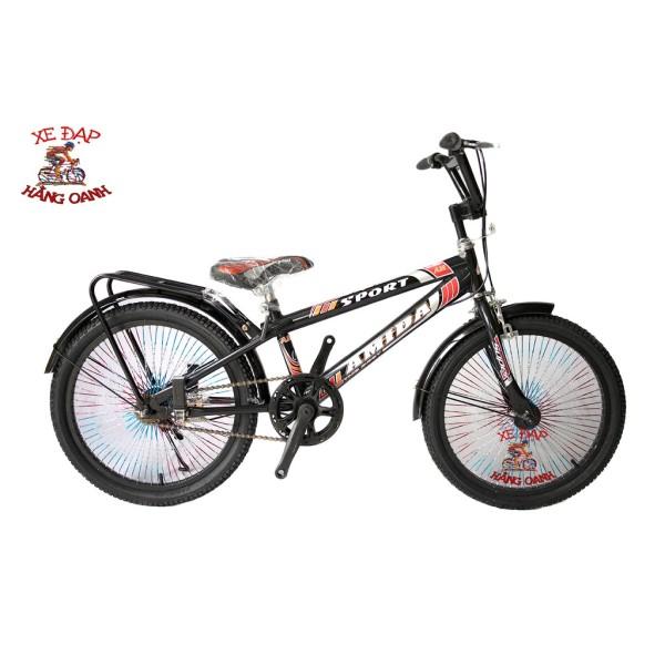 Mua Xe đạp 20inch Amida nan hoa mau kiểu dáng xgame