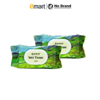 Combo 2 Khăn Ướt Có Nắp Nhựa No Brand Hàn Quốc 100 Miếng - Emart VN thumbnail