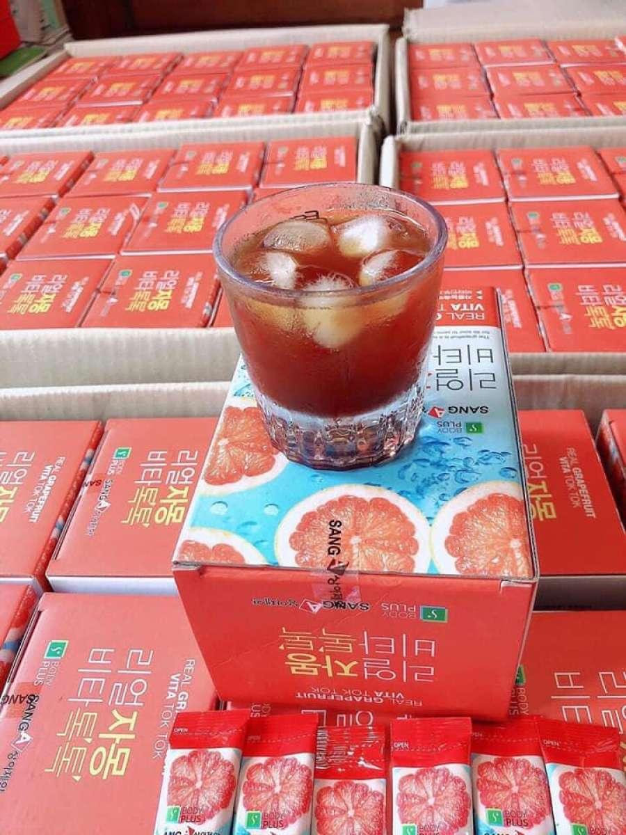 Nước ép Bười Hàn Quốc 10 Gói Giảm Cực Hot