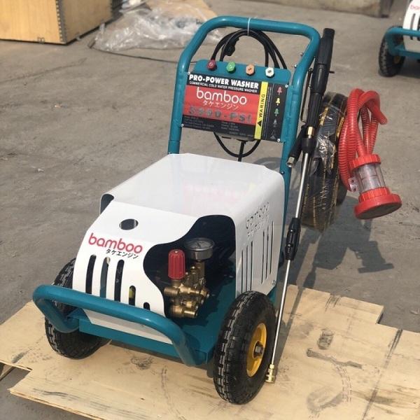Máy Rửa Xe Cao Áp 2.5kw Bamboo 3000PSI (Piston Sứ)
