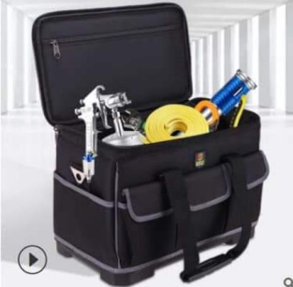 túi đựng đồ nghề hình vuông để đồ được nhiều hơn 1.5 lần so với túi thông thường