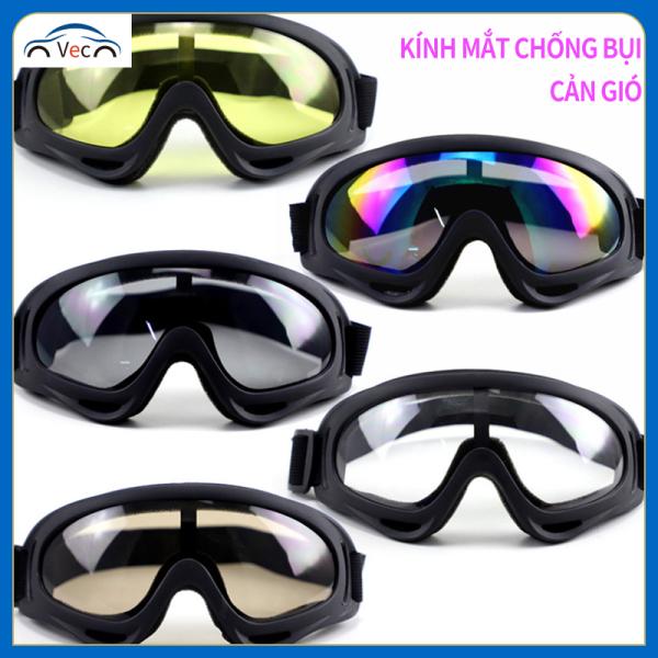 Giá bán Kính chống bụi, cản gió đi xe máy, xe điện; Kính bảo vệ mắt khi cưỡi ngựa; Kính trang trí mũ bảo hiểm