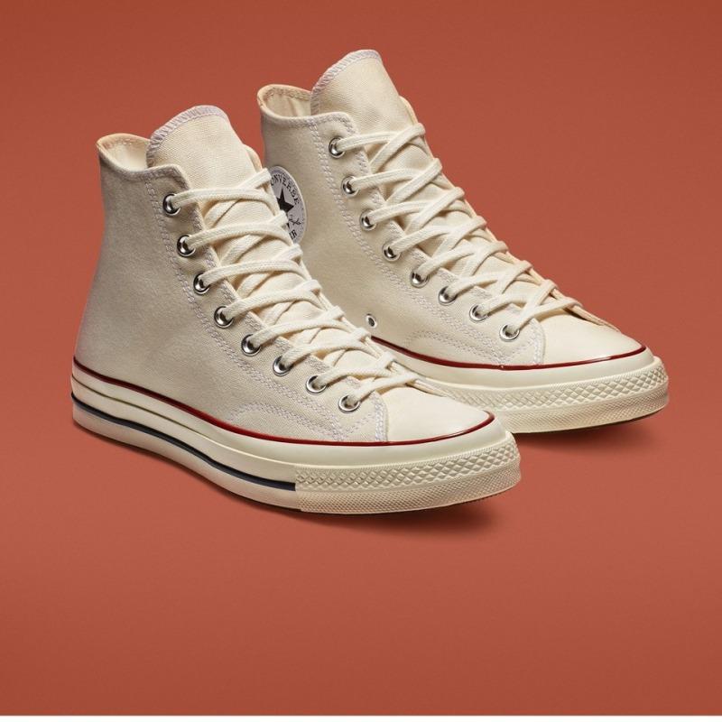 ( Tặng túi converse+ bill + tất) Giày Converse 1970s Cao cổ màu trắng kem Nam nữ