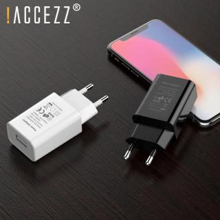 ACCEZZ Bộ Chuyển Đổi Sạc USB Phích Cắm Chuẩn EU Mỹ 5V1A Thiết Bị Sạc Tường Nhà Du Lịch Phổ Thông, Bộ Chuyển Đổi Sạc Cho iPhone 11 Pro 7 8 Plus iPad Xiaomi HTC LG Xiaomi thumbnail
