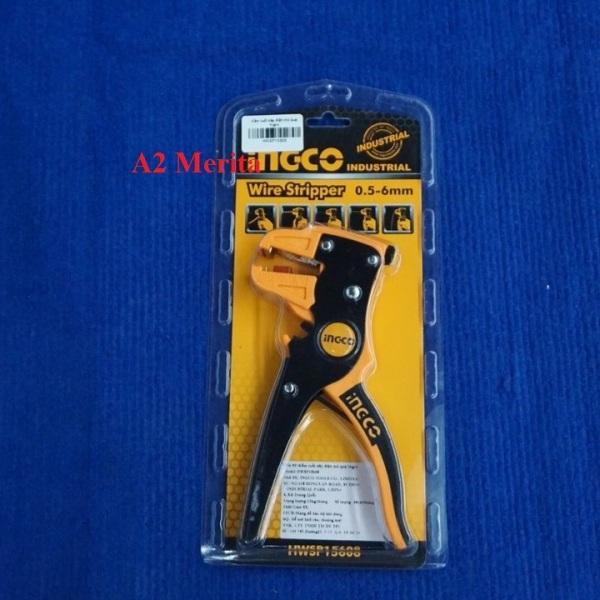 0.5mm - 6mm Kềm tuốt dây điện mỏ quạ INGCO HWSP15608