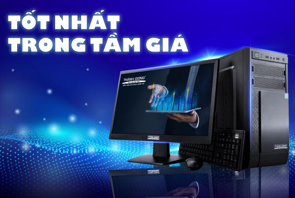 Bảng giá Máy Tính Để Bàn Xử Lý Tốc Độ Cao E350 - Thánh Gióng - Core i3 - RAM 4GB - Màn hình 19.5 inch LED - Bảo hành 24 tháng Phong Vũ