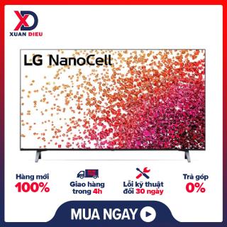 Smart Tivi NanoCell LG 4K 50 inch 50NANO75TPA Mới 2021 Hệ điều hành WebOS Smart TV 5.0 (mới nhất) ,Remote thông minh tìm kiếm bằng giọng nói ,Có thể kết nối Bàn phím ,chuột ,Điều khiển tivi bằng điện thoại Ứng dụng LG TV Plus thumbnail