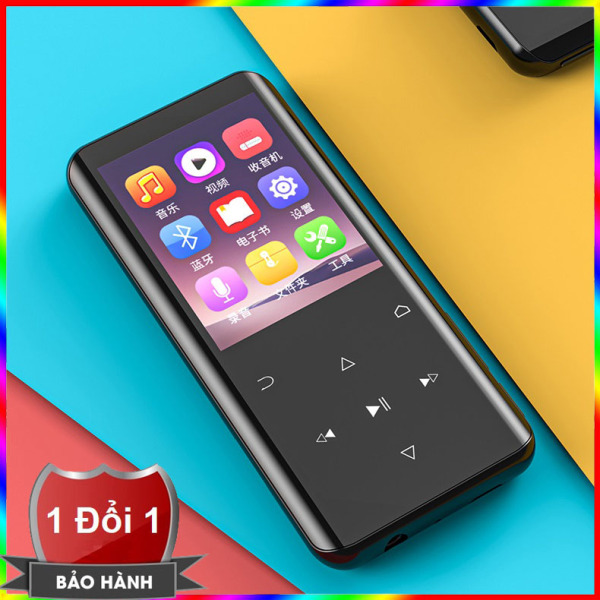 Máy nghe nhạc Ruizu D25 hỗ trợ Bluetooth 5.0 bộ nhớ trong 16G - Hifi Music Player Ruizu D25 - Màn hình cong 2.4inch, hỗ trợ loa ngoài, ghi âm, bộ đếm bước chân thể dục, từ điển