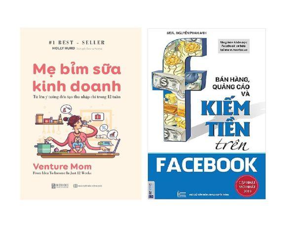 Mua Sách Combo Bán Hàng, Quảng Cáo Và Kiếm Tiền + Mẹ Bỉm Sữa Kinh Doanh Online + Tặng Sổ tay