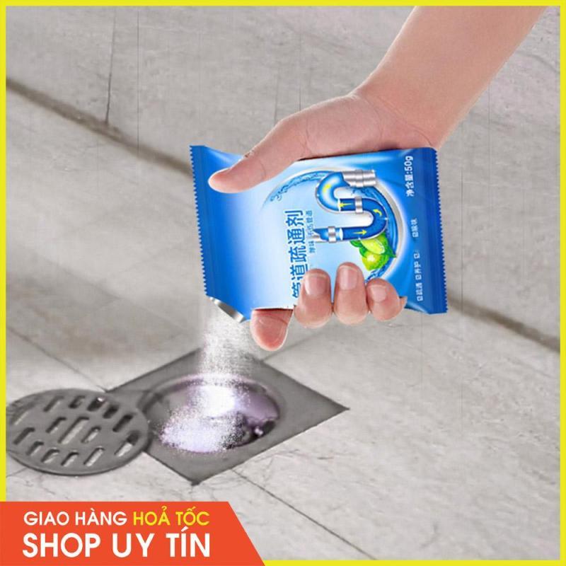 Gói Tẩy Sạch Diệt Vi Khuẩn, Mùi Hôi Và Làm Tan Cặn Bẩn Đường Ống Cống