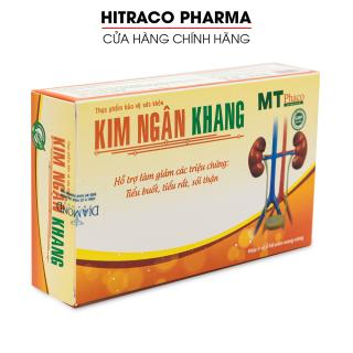 Viên uống Kim Ngân Khang giảm sỏi thận, sỏi mật, sỏi bàng quang, giảm tiểu buốt, tiểu rắt, bí tiểu - Hộp 30 viên thumbnail